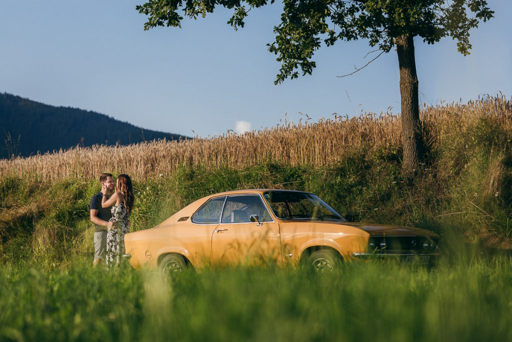 Oldtimer-Shooting in der Steiermark